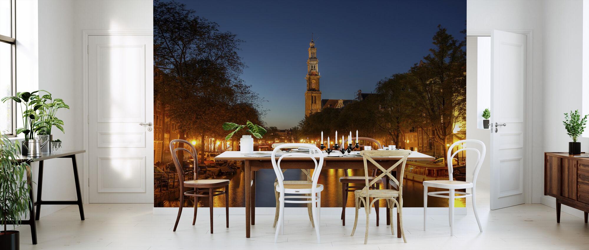 Prinsengracht Canal in Amsterdam - Wallpaper - Kitchen