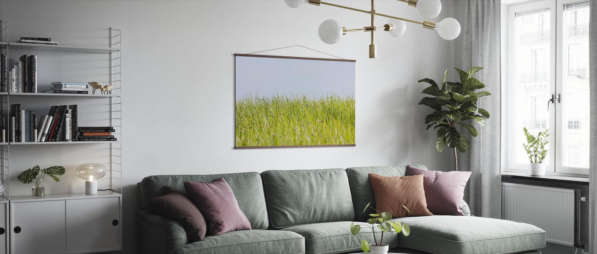 Grön sommar äng - Poster - Vardagsrum