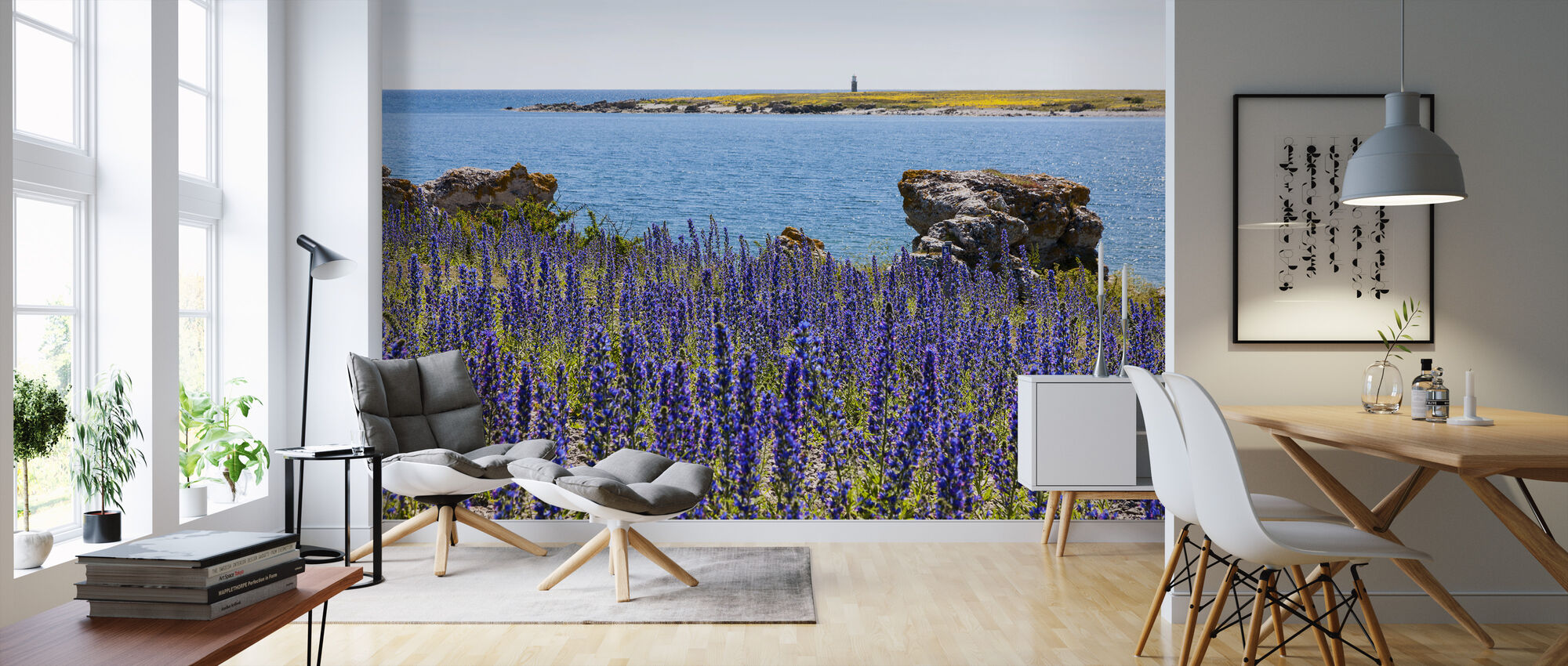 Gotland Sommerlandschaft - Tapete - Wohnzimmer