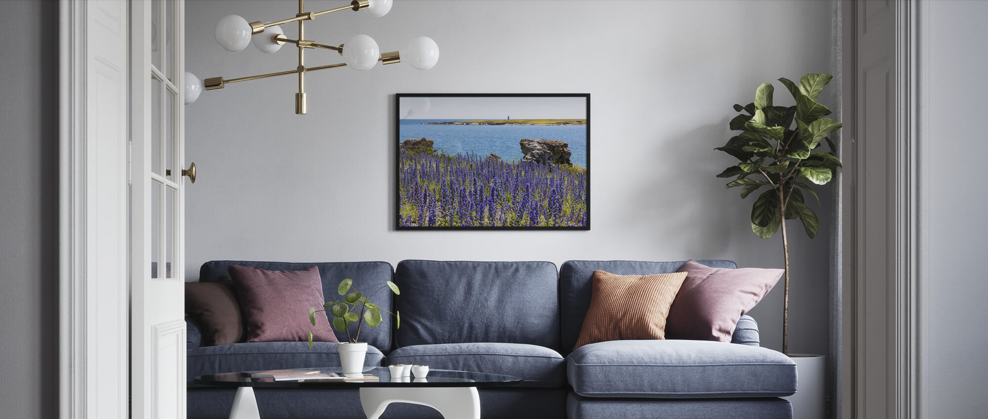 Gotland Summer Landscape - Framed print - Living Room