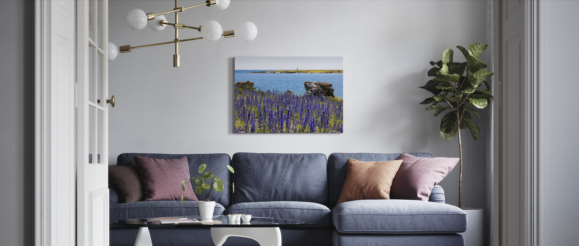 Gotland Summer Landscape - Canvas print - Living Room