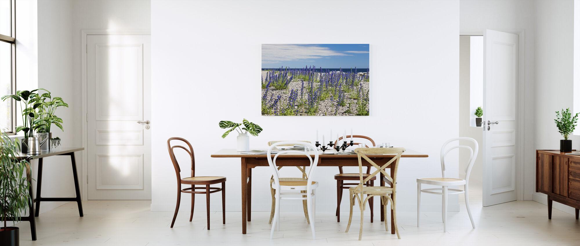 Blueweed - Canvas print - Kitchen