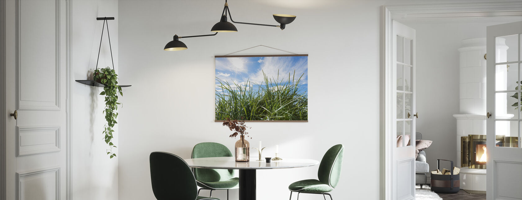 Green Grass & Blue Sky - Poster - Kitchen