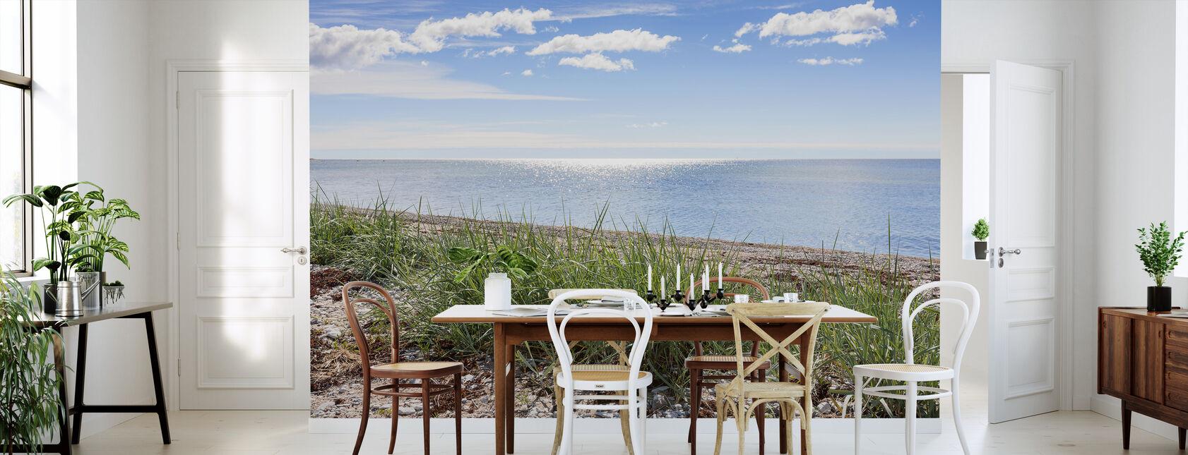 Gotlands strand - Tapet - Kök