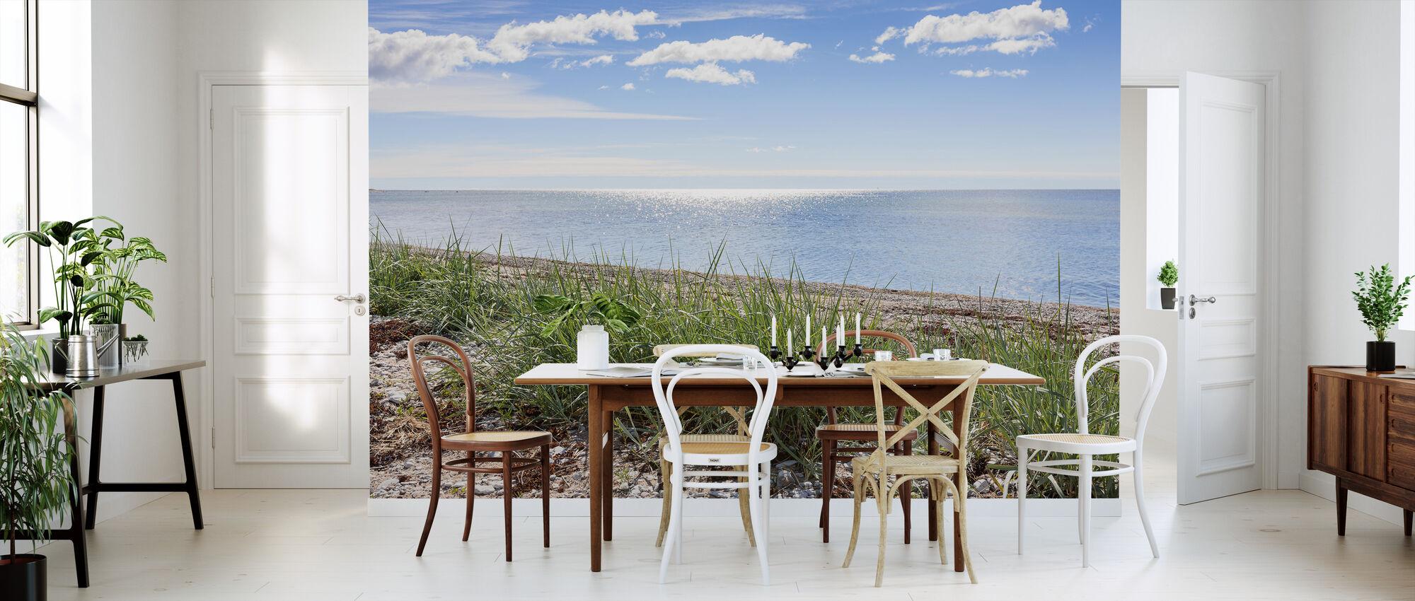 Gotland Beach - Wallpaper - Kitchen