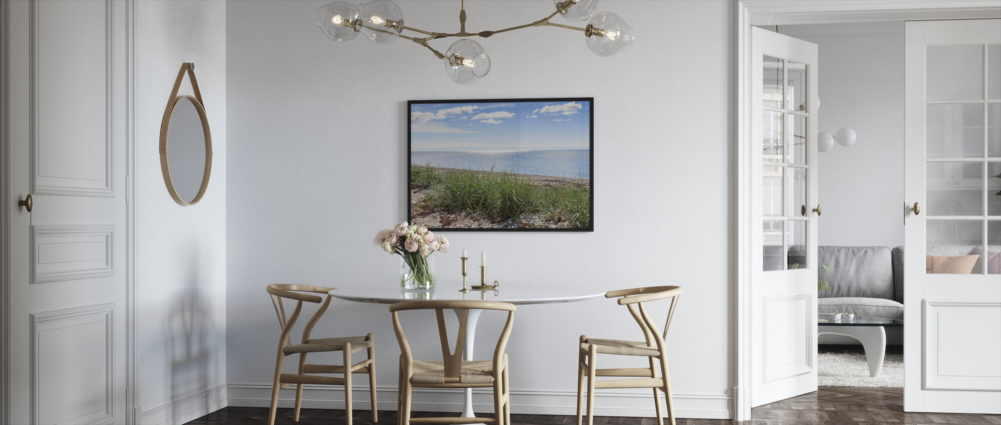 Gotland Beach - Framed print - Kitchen