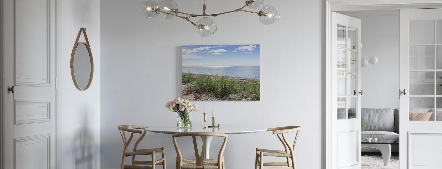 Gotland Beach - Canvas print - Kitchen