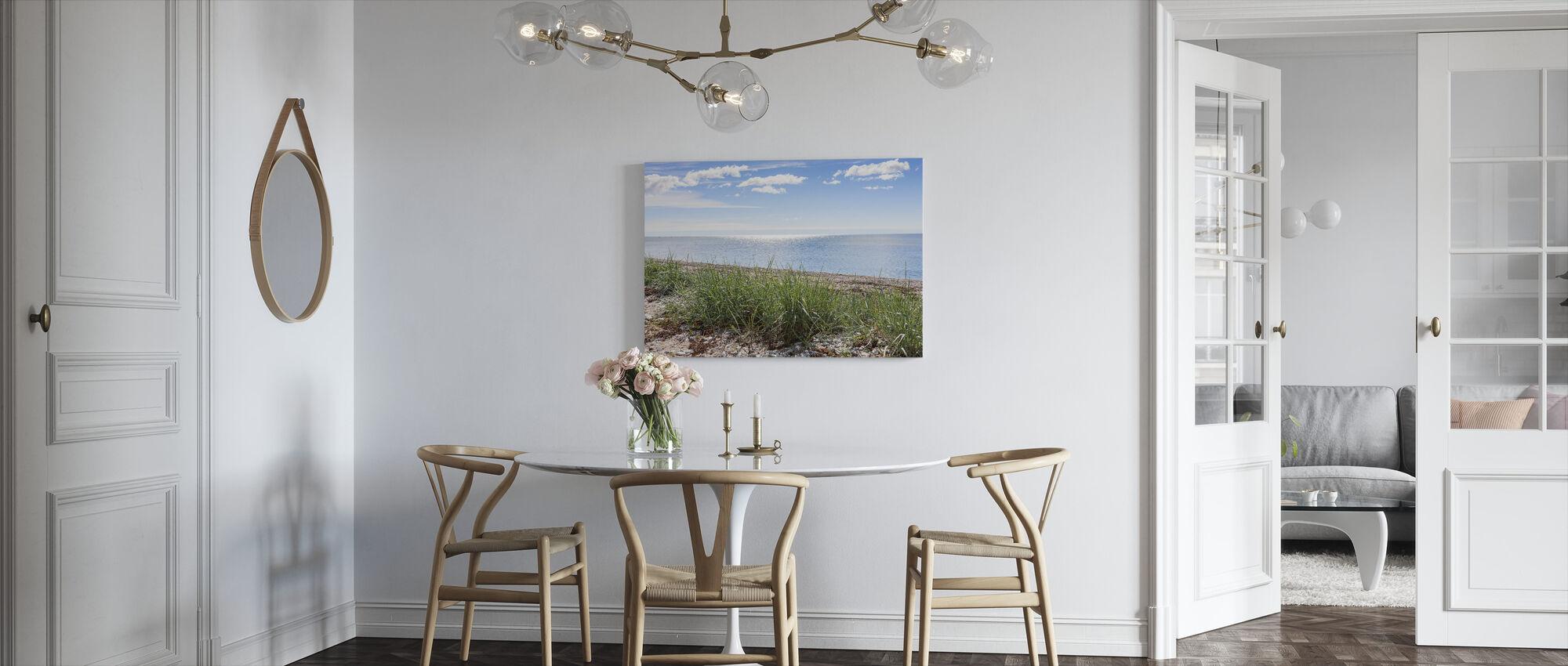 Gotland strand - Lerretsbilde - Kjøkken