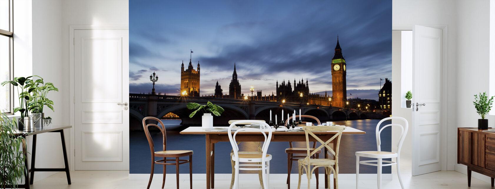 Westminsterbron på natten - Tapet - Kök