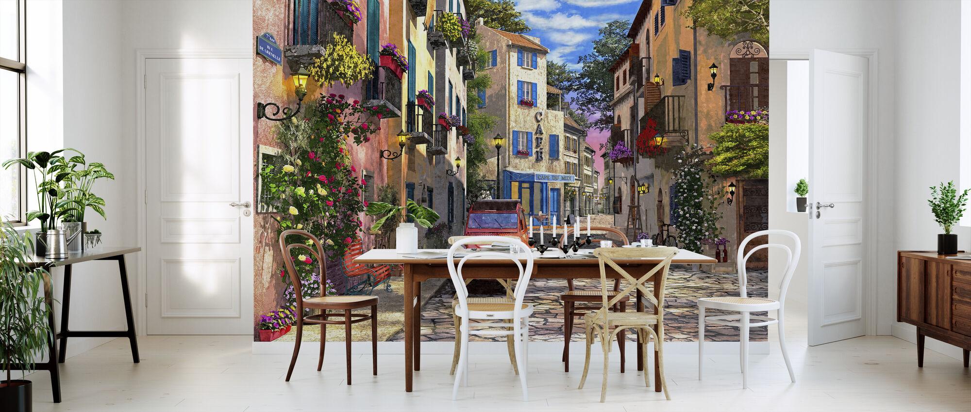 Rue Francais - Wallpaper - Kitchen