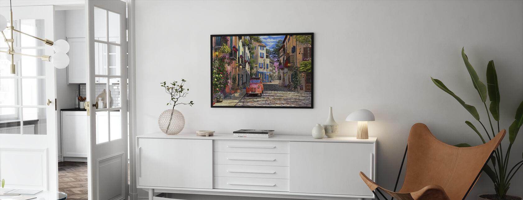 Rue Français - Indrammet billede - Stue