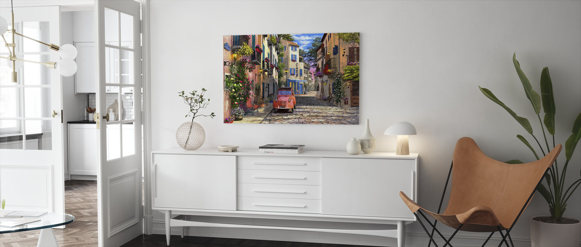 Rue Francais - Canvas print - Living Room