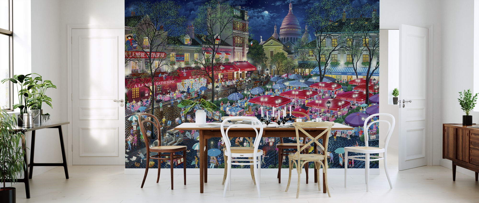 A Night At Montmartre - Wallpaper - Kitchen
