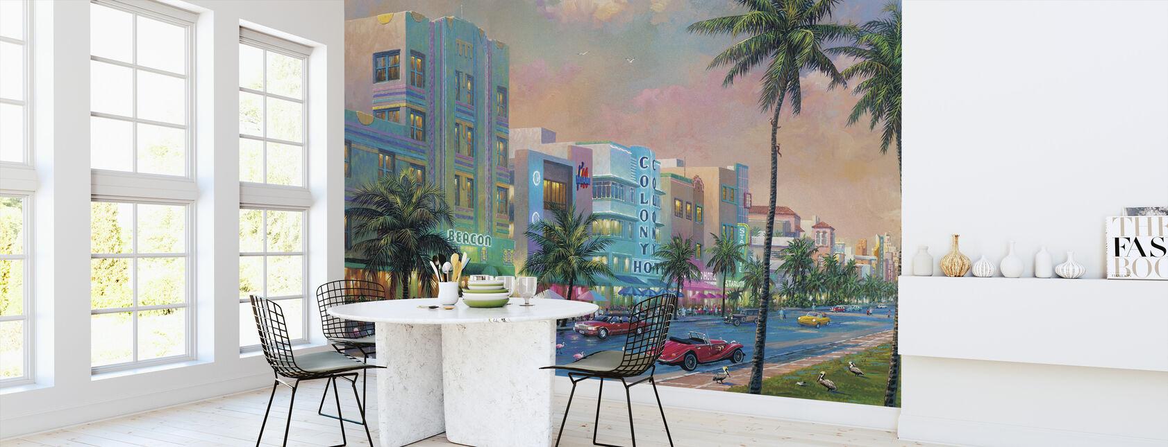 Miami - Wallpaper - Kitchen