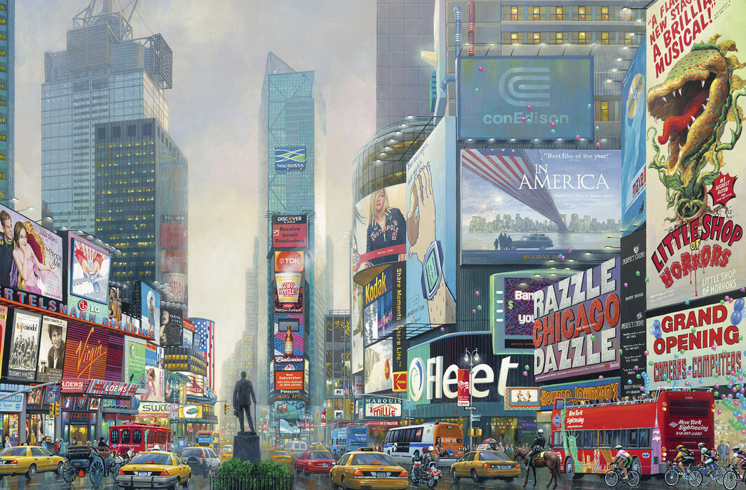 New York Times Square South Wall Murals Online Photowall