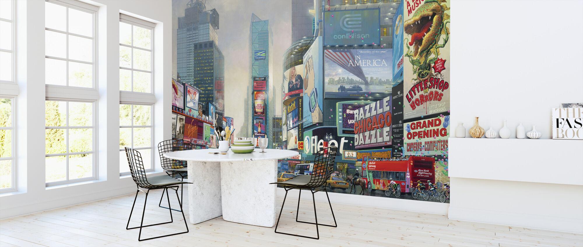 New York-Times Square South - Tapetti - Keittiö