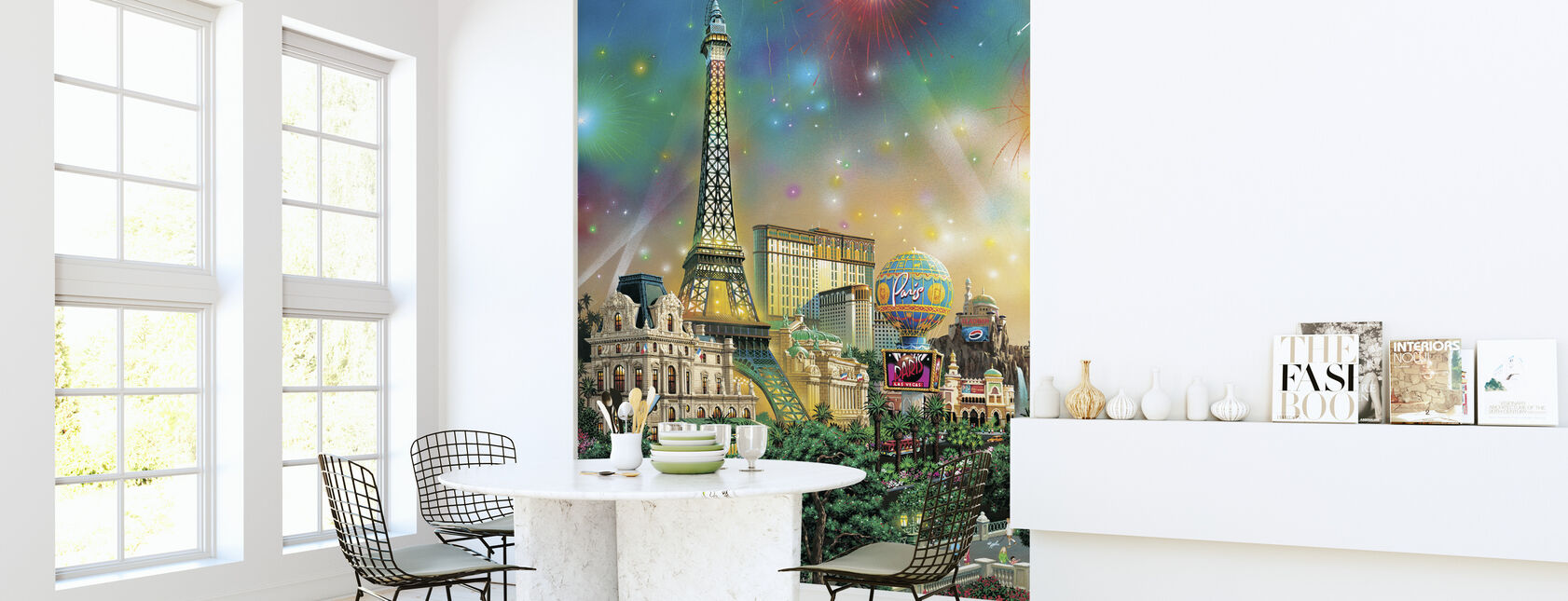 Paris - Las Vegas - Wallpaper - Kitchen