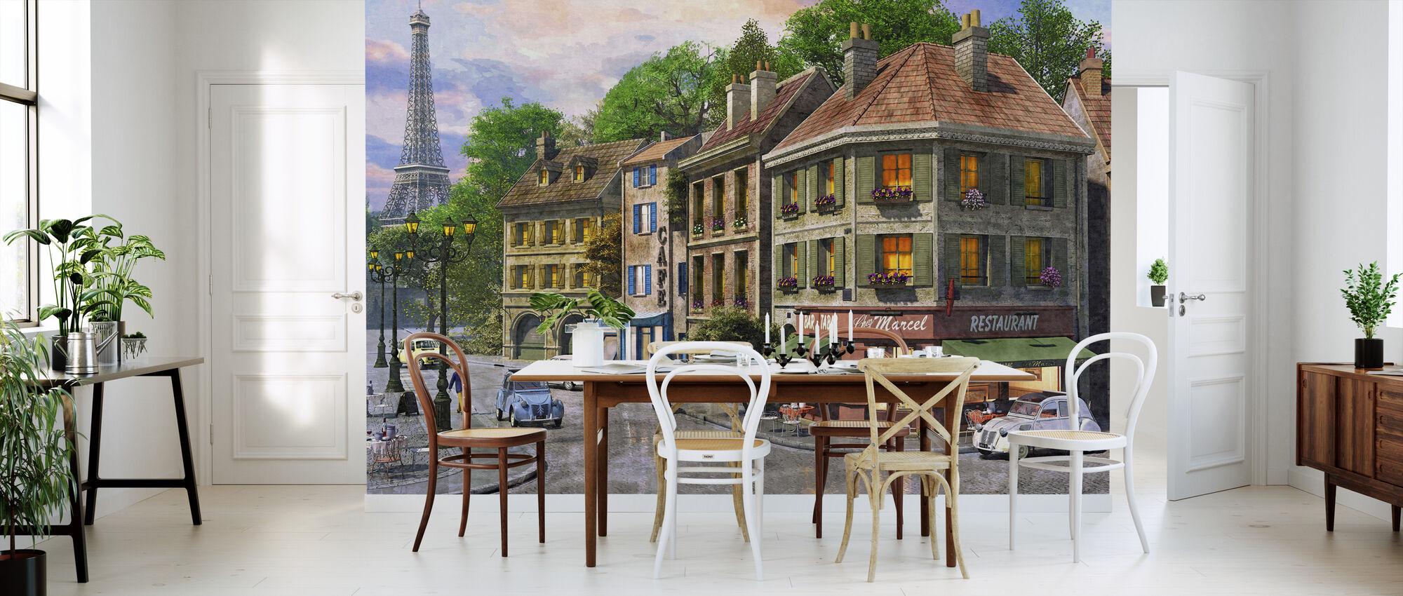 Pariisin kadut - Tapetti - Keittiö