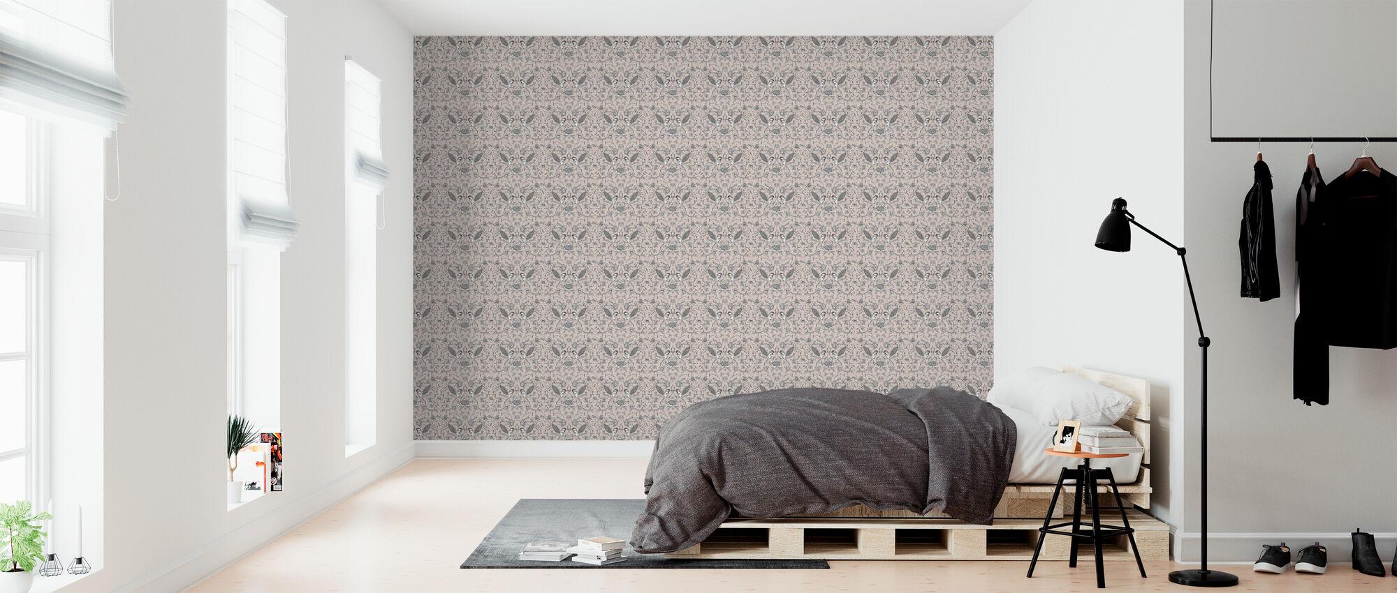 Birds - Pink - Wallpaper - Bedroom