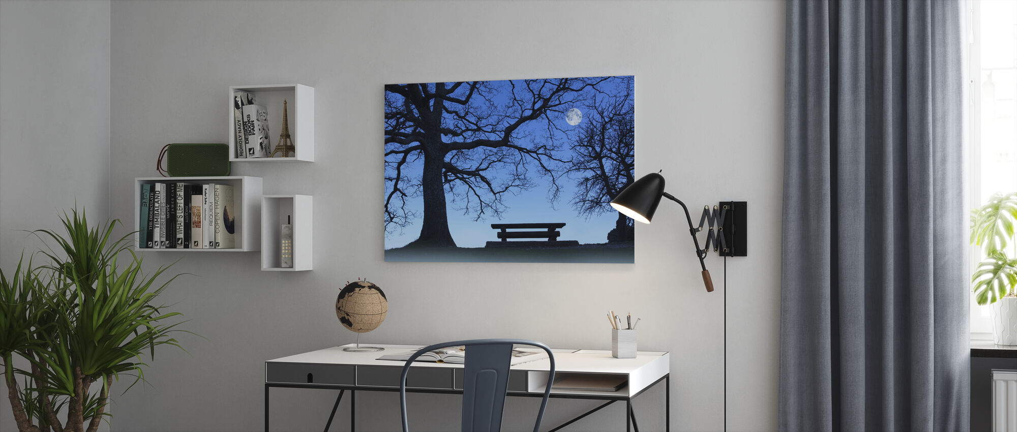 The Bench - Canvas print - Office