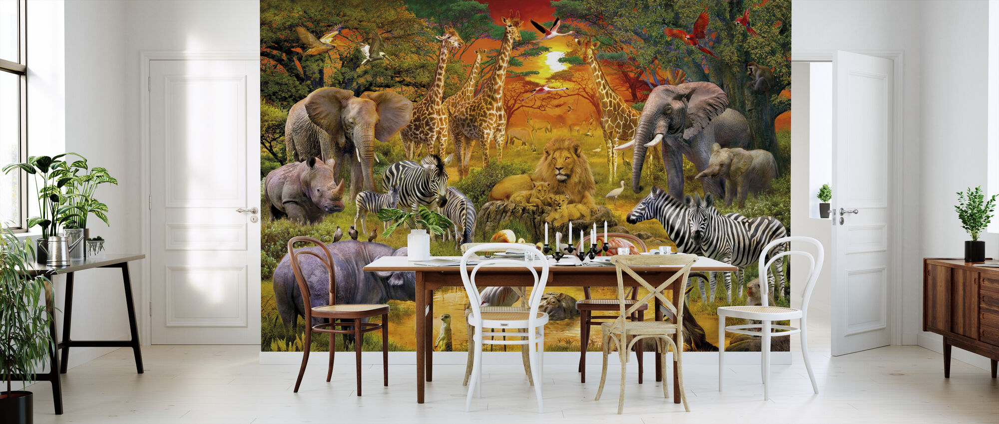 African Harmony - Wallpaper - Kitchen