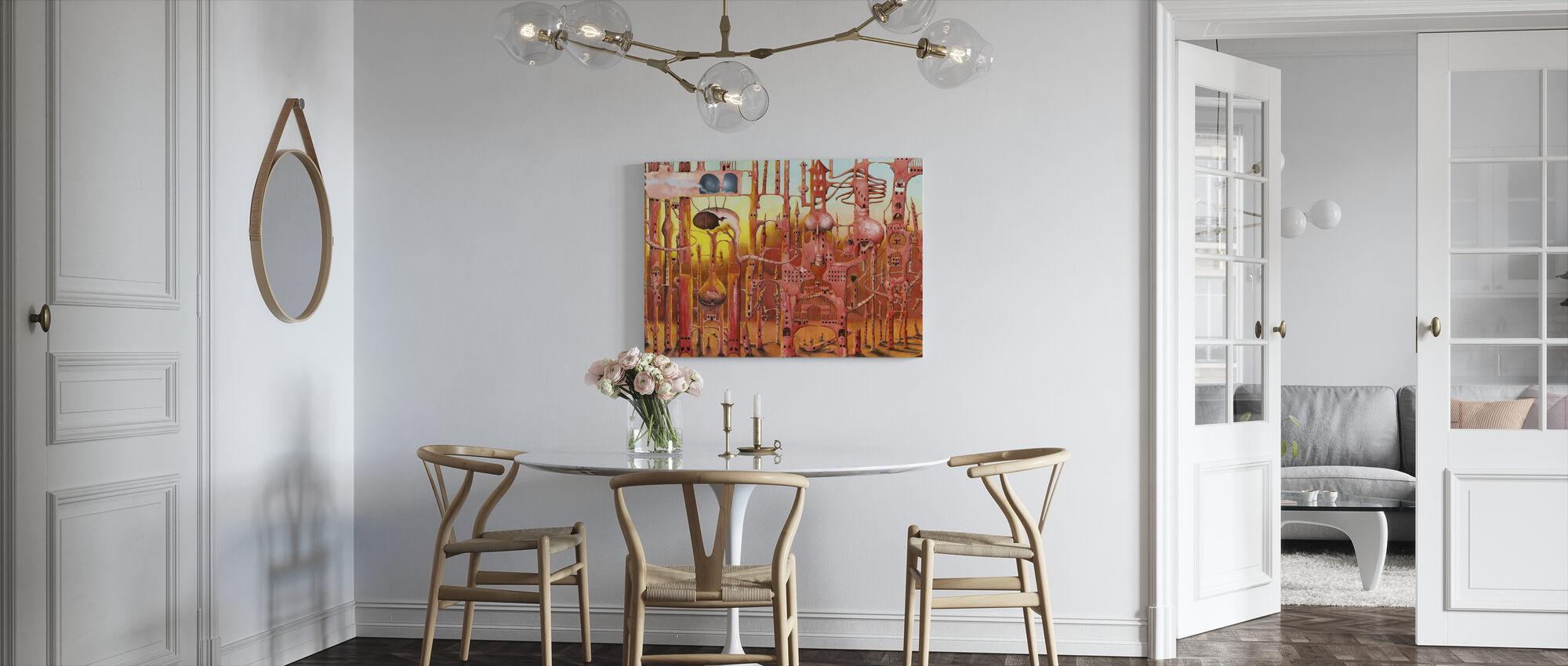 Mars - Canvas print - Keuken