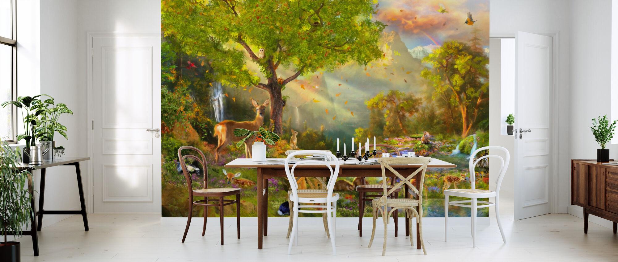Fawn Mountain - Wallpaper - Kitchen