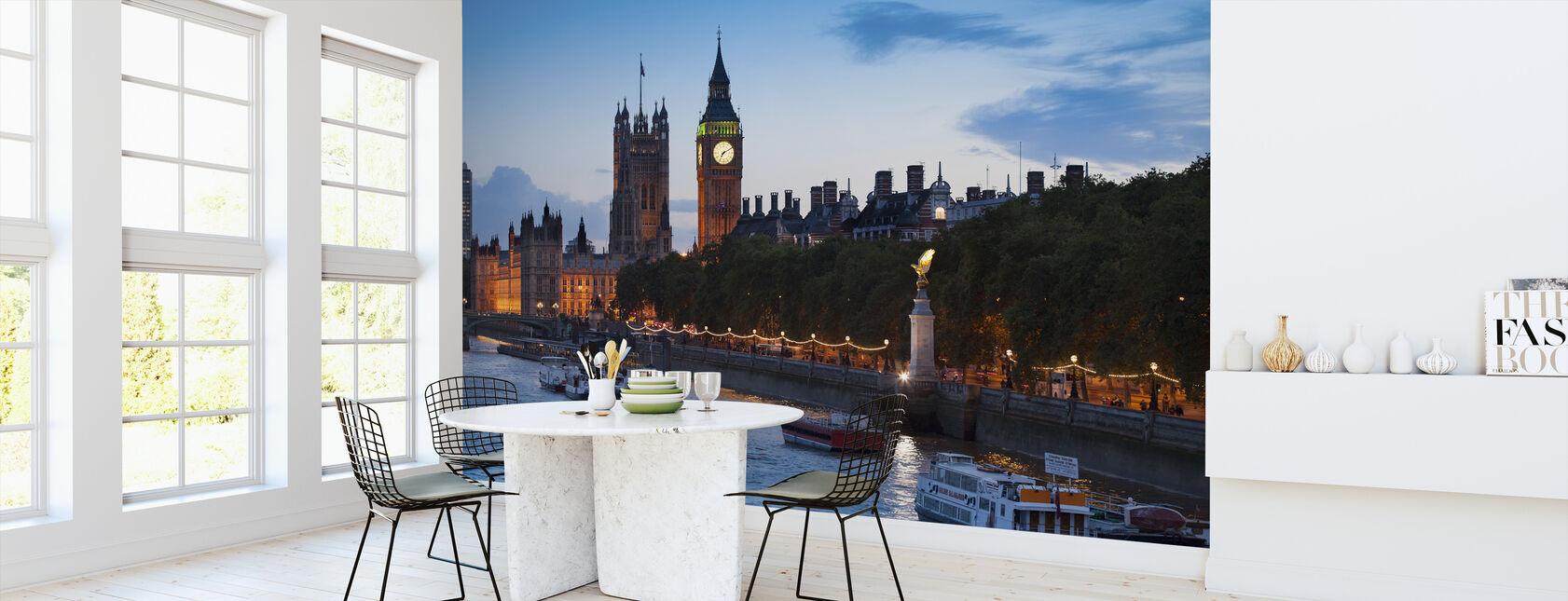Parlamentsboliger - London - Tapet - Køkken