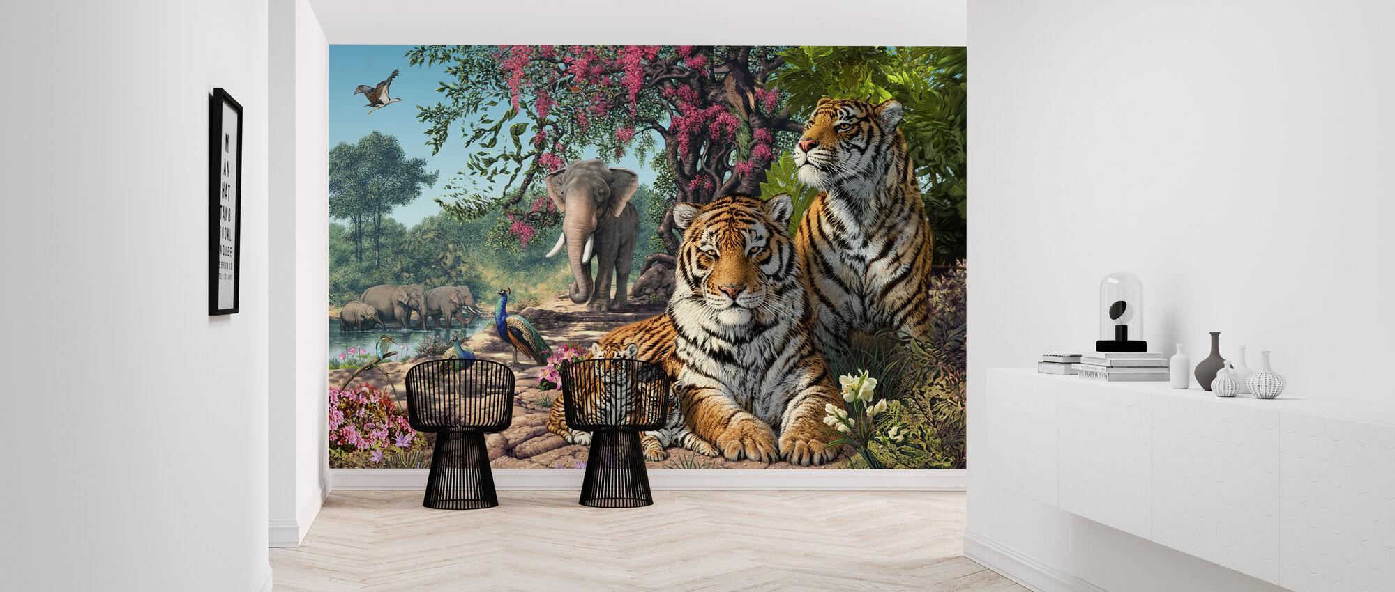 Tiger Heiligtum - Tapete - Flur