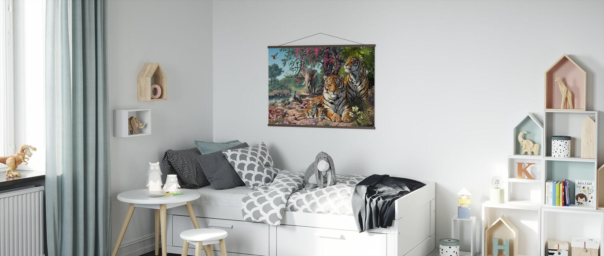 Tiger Sanctuary - Plakat - Barnerom