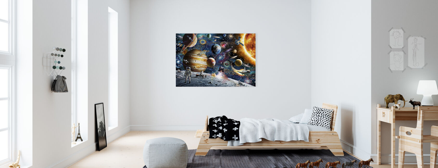 Space Odyssey - Canvas print - Kids Room