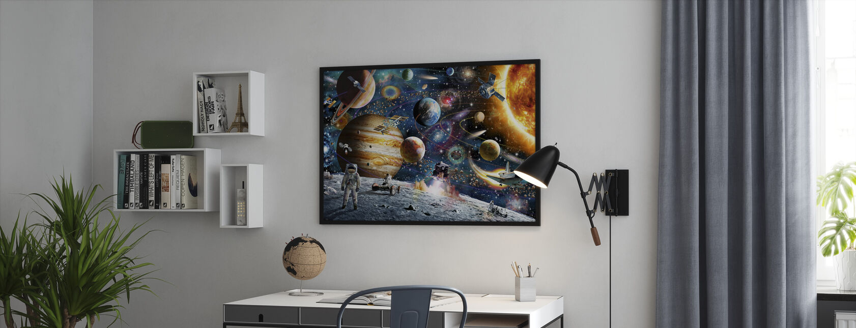 Space Odyssey - Framed print - Office