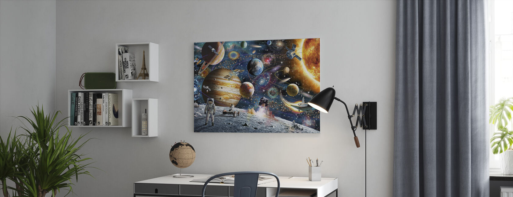 Space Odyssey - Canvas print - Office
