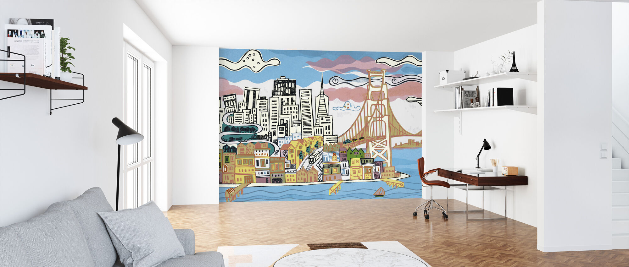 San Francisco Bay - Wallpaper - Office