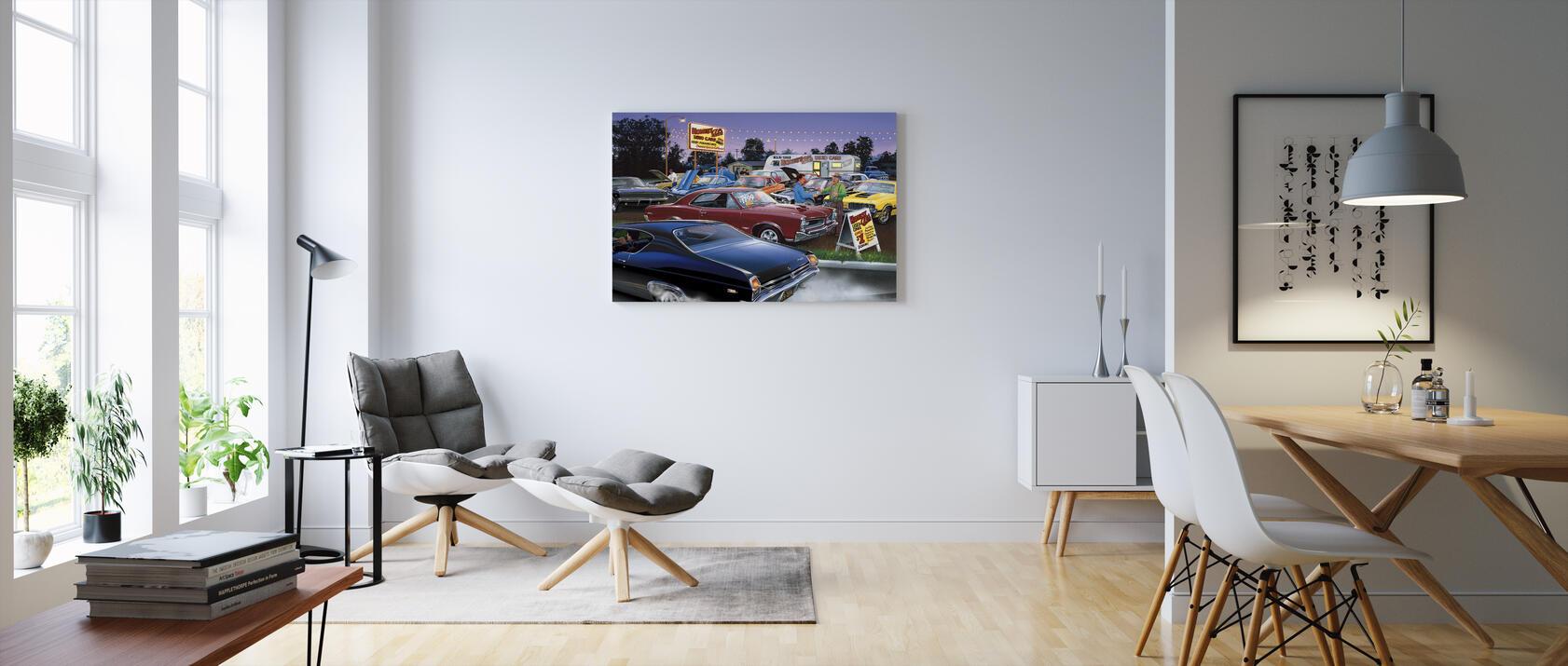 Honest Al 39 S Used Car Canvakselle Painettu Designtaulu Photowall