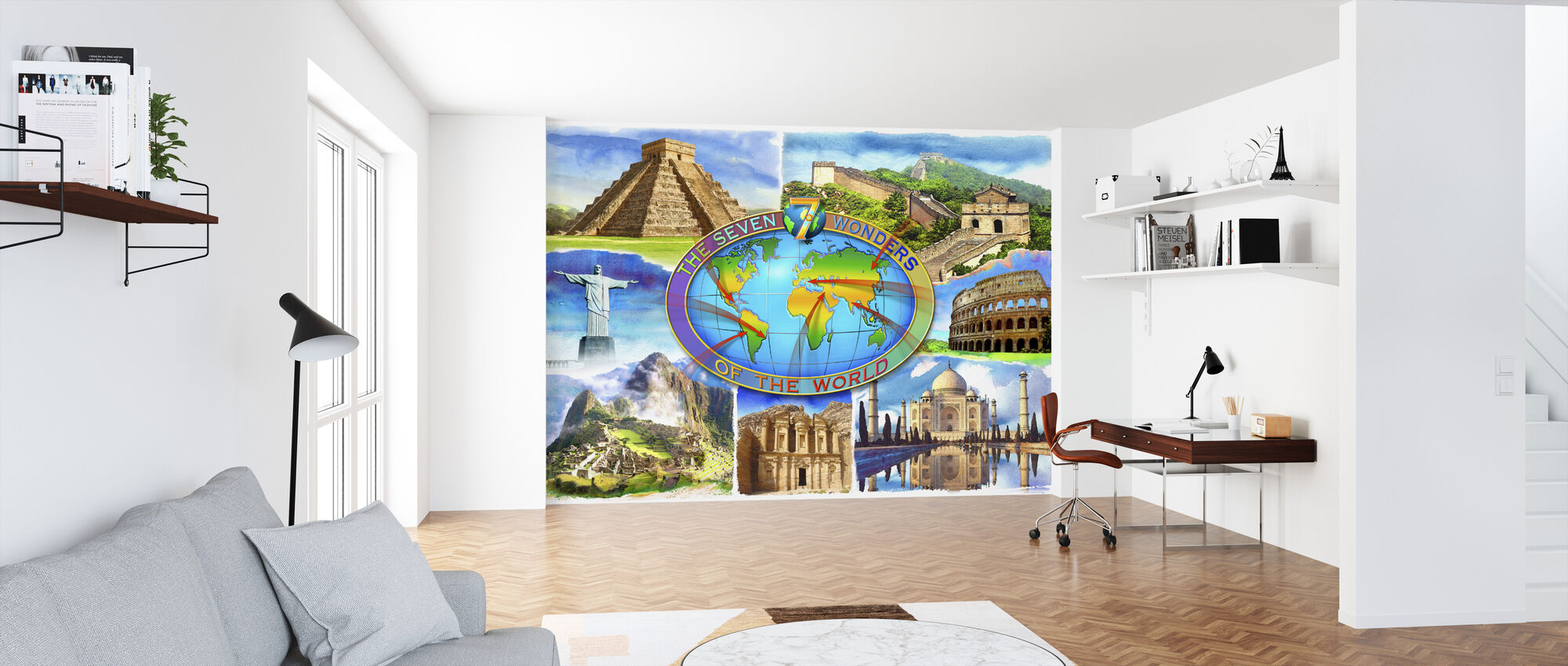 Seven Wonders of the World - Wallpaper - Office