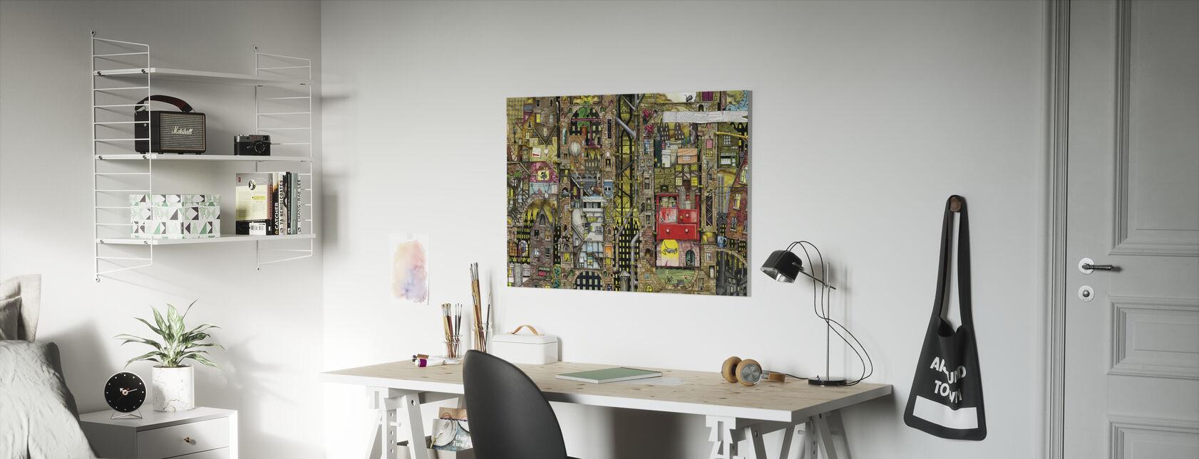 Pepper Dreams - Canvas print - Kids Room