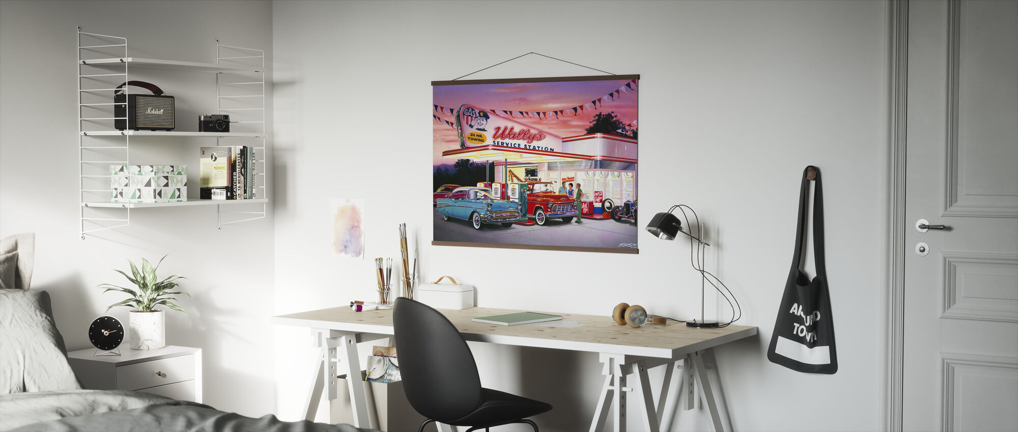 Wallys - Poster - Kantoor