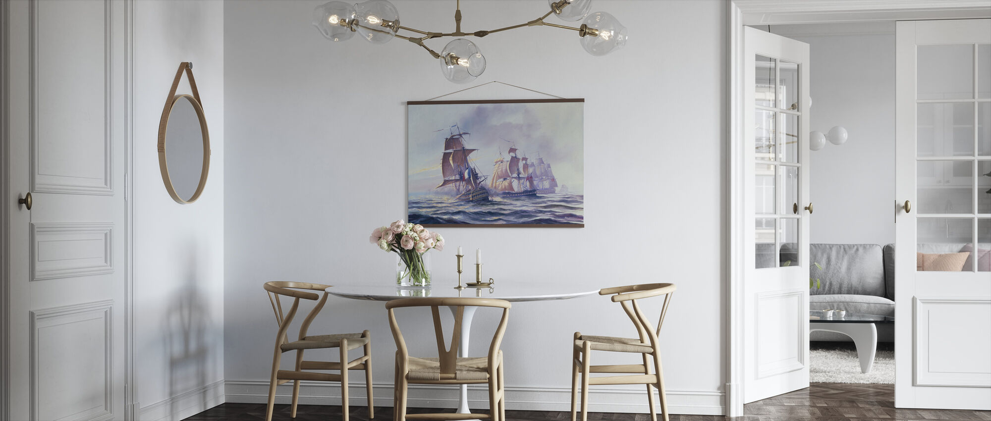 Capture of Guillaume Tell off Malta - Poster - Kitchen