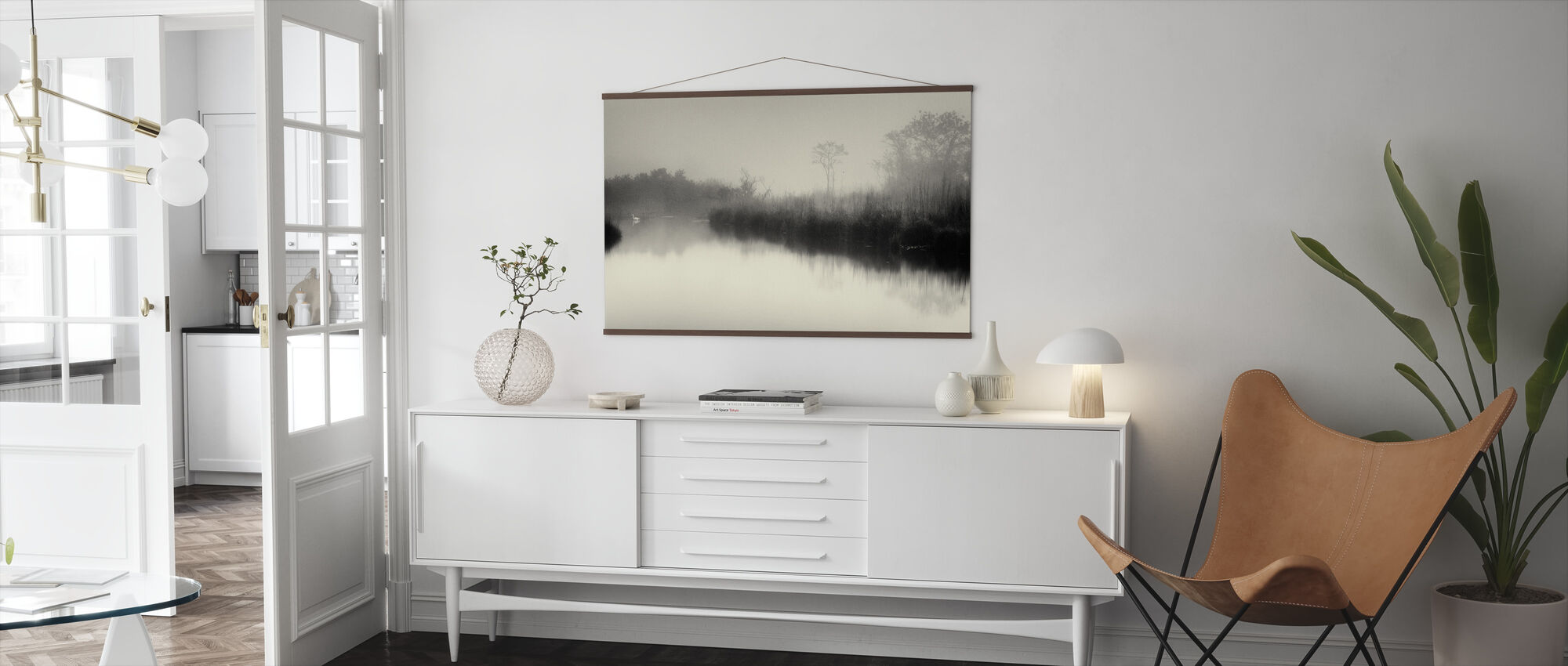 Lake and Trees - Poster - Living Room