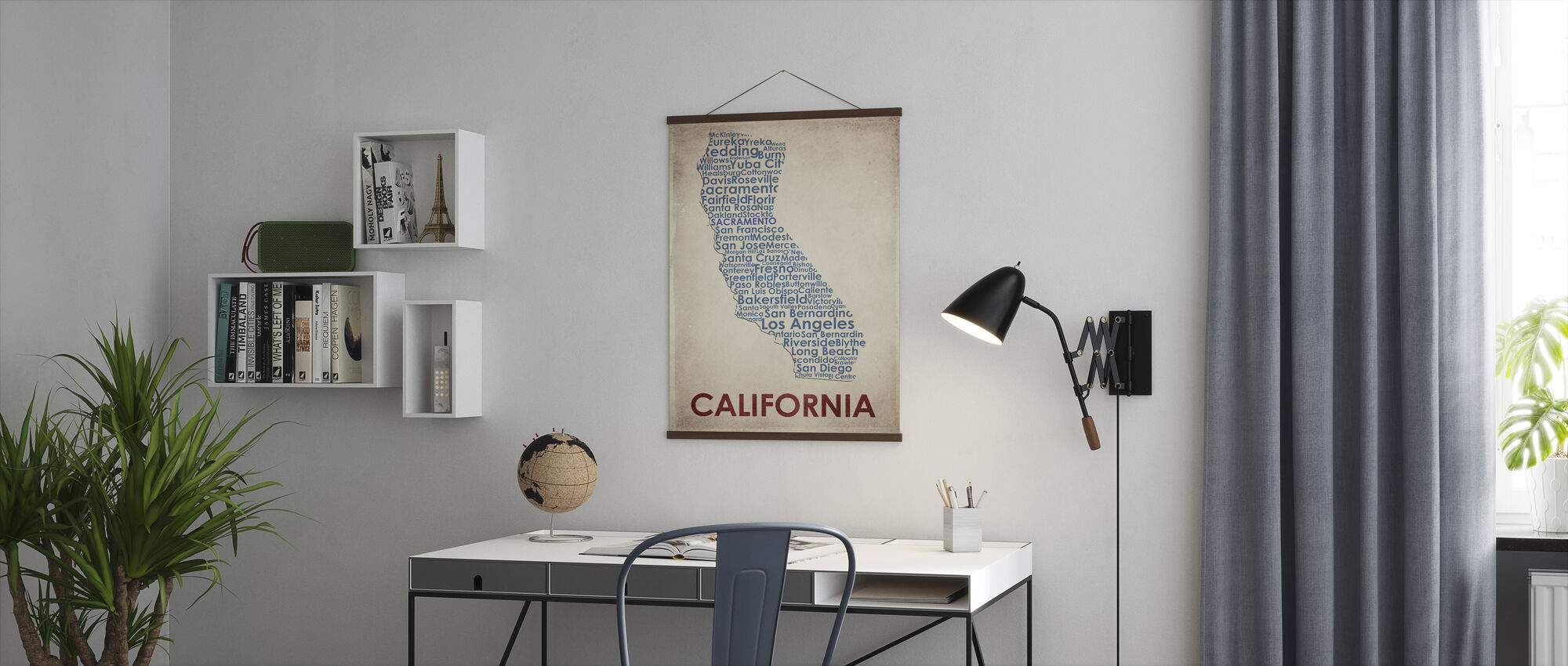 California Map - Poster - Office