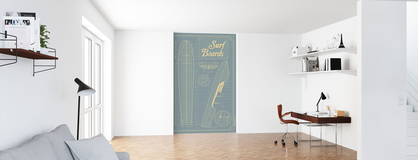 Surf Boards - Wallpaper - Office