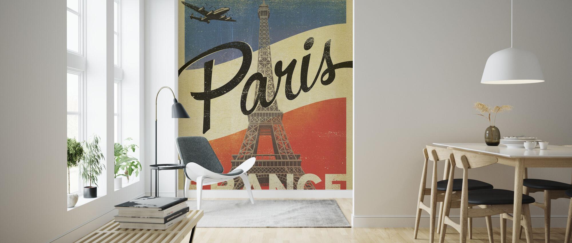 Paris - Wallpaper - Living Room