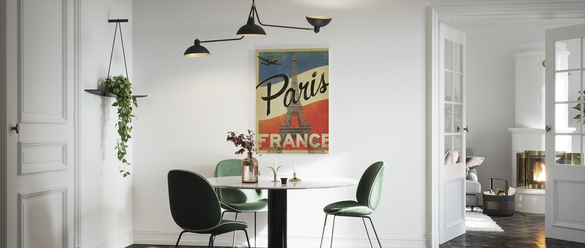 Paris - Canvas print - Kitchen