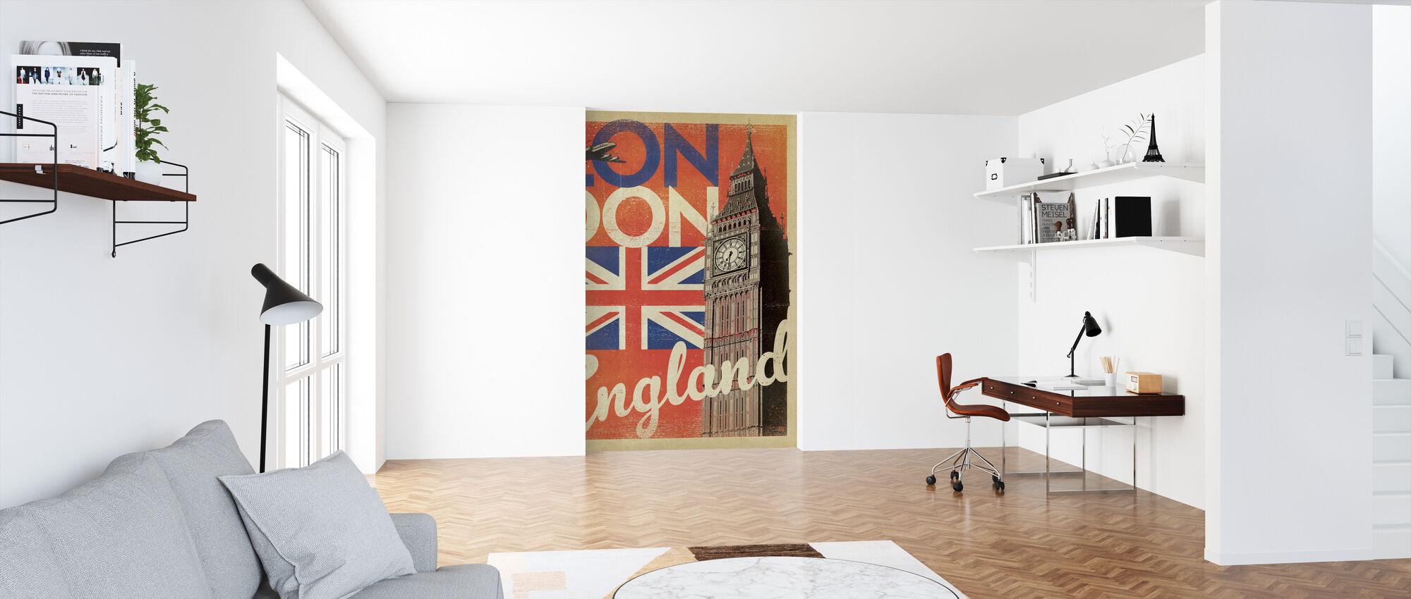 Londen - Behang - Kantoor