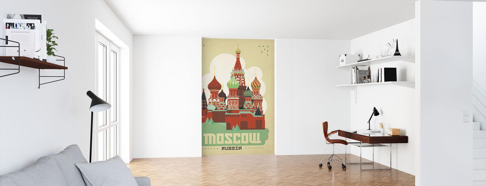 Moskva - Tapet - Kontor