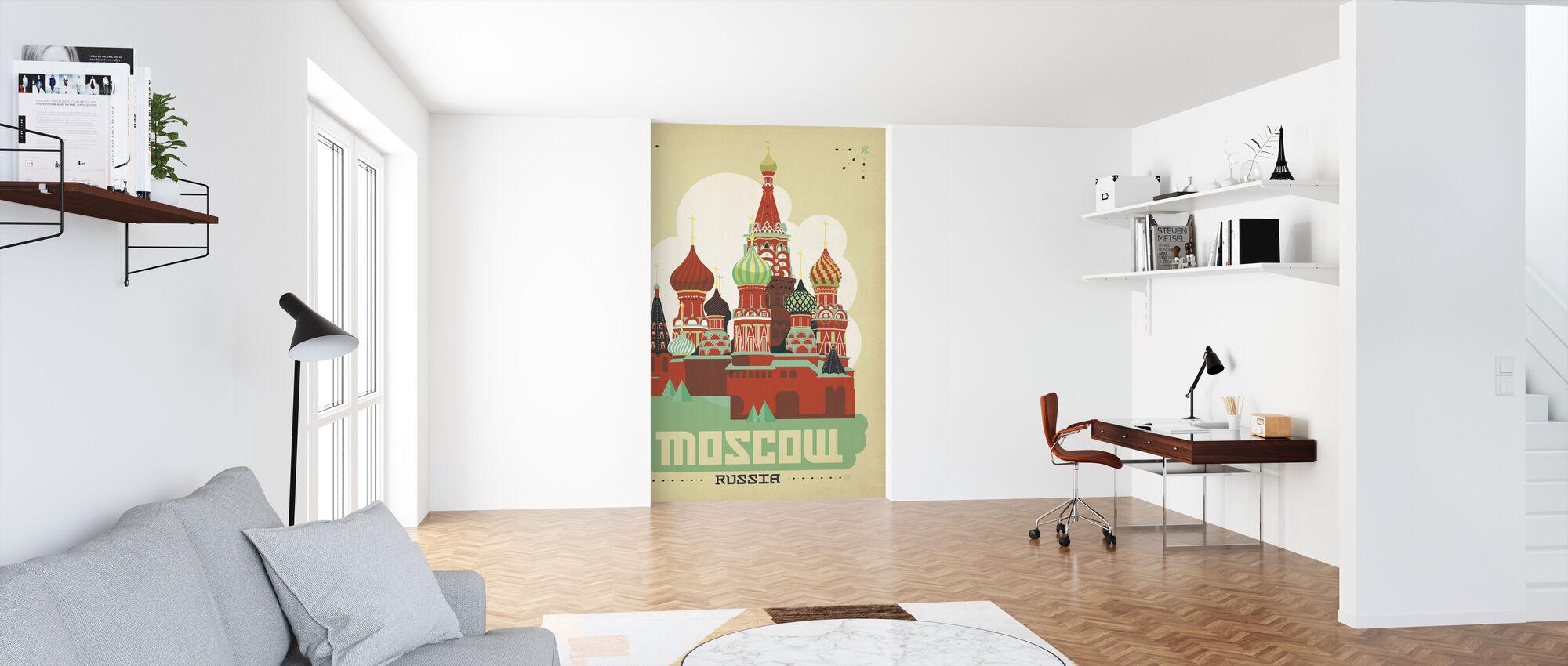 Moskou - Behang - Kantoor