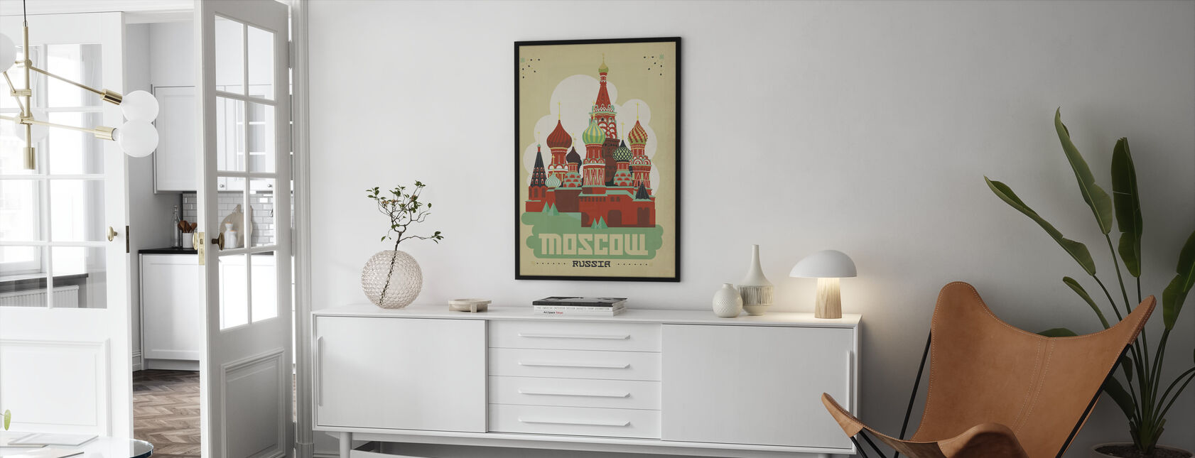 Moscow - Framed print - Living Room