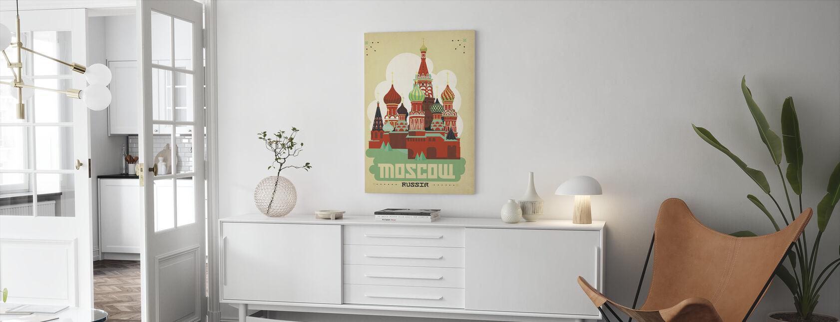 Moskva - Lerretsbilde - Stue