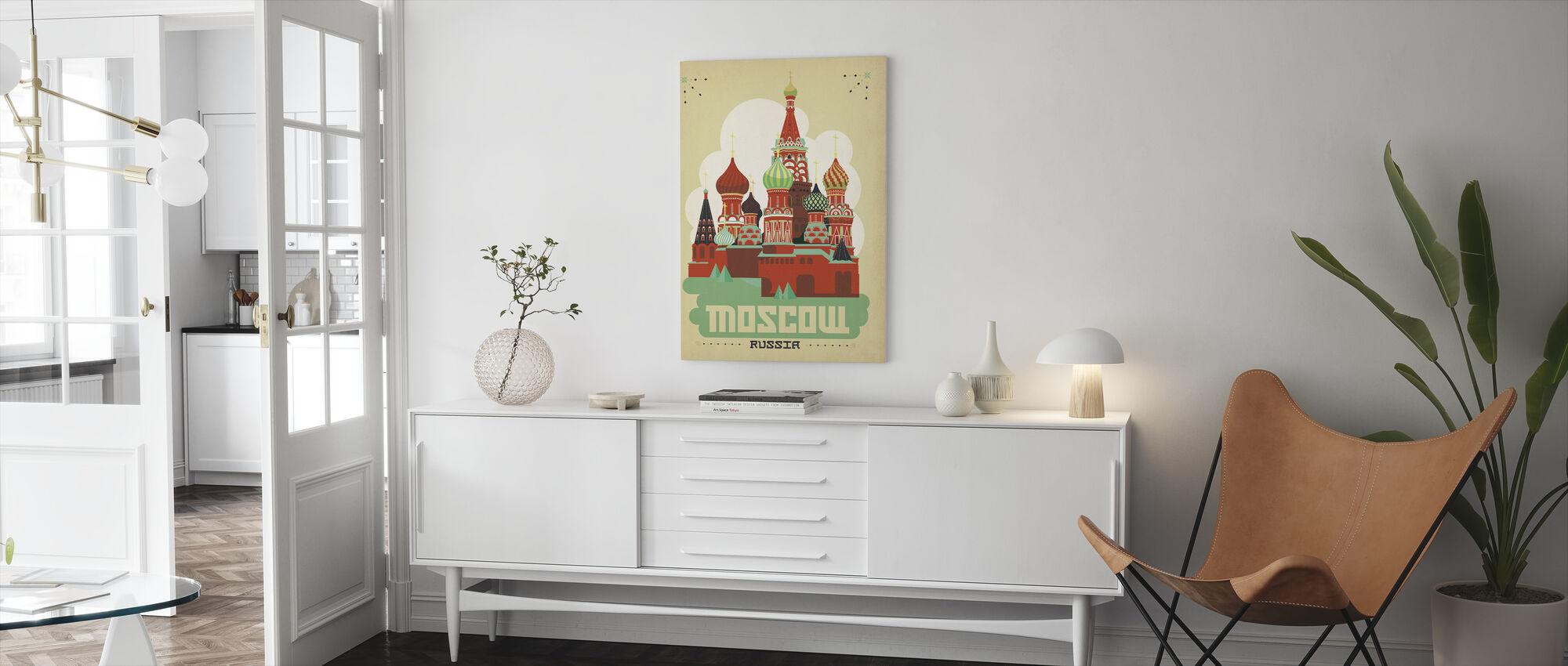 Moskva - Canvastavla - Vardagsrum